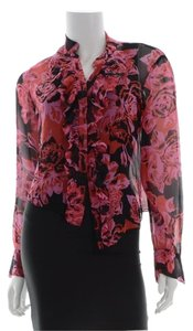 Diane von Furstenberg Dvf Top Pink, Red, Black