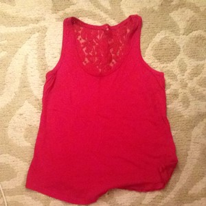 Express Top Dark Pink/red