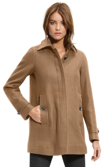 Preload https://item5.tradesy.com/images/burberry-camel-brit-womens-wool-cashmere-jacket-us-eu-42-trench-coat-size-8-m-12925264-0-1.jpg?width=400&height=650