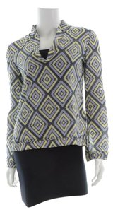 Tory Burch Top Blue, Purple, Yellow