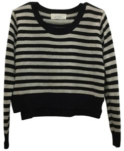 Nordstrom Striped Cropped Crop Sweater