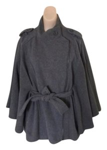 Sisley Belted Gray Cape Size 44 Cape