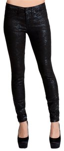bebe Skinny Jeans-Coated