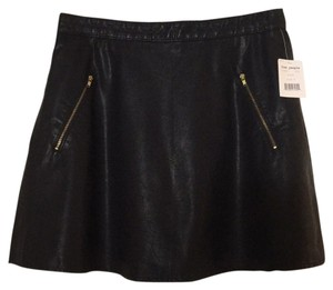 Free People Mini Skirt Black