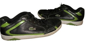 Lacoste Black and Green Athletic