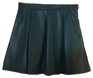 French Connection Mini Skirt Green