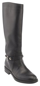 Iceberg Leather Knee-high Black Boots