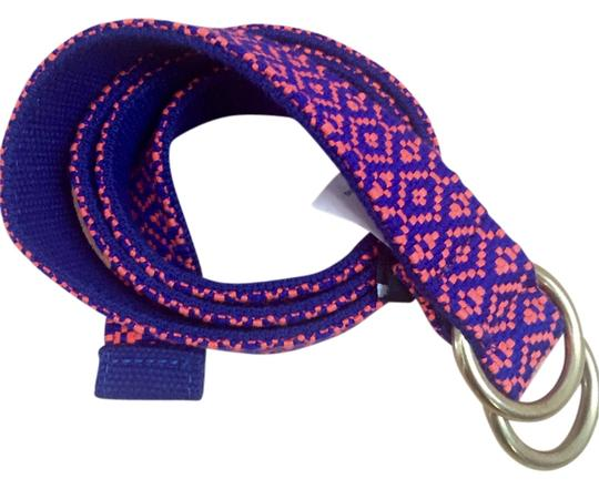 Preload https://item3.tradesy.com/images/jcrew-blue-and-pink-woven-belt-12926137-0-1.jpg?width=440&height=440