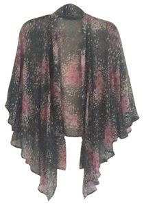 Nordstrom/Pure Sugar Boho Flora Flowy Cardigan Draped Top Multi floral