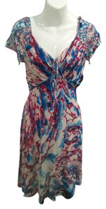 Just Cavalli short dress Multi-Colored on Tradesy