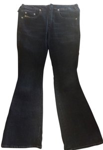 Diesel Industry Wash Boot Cut Jeans-Dark Rinse