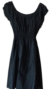 Massimo short dress Black on Tradesy
