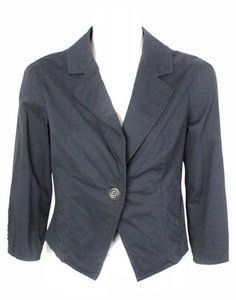 Gentle Fawn Button Jacket Medium Grey Blazer