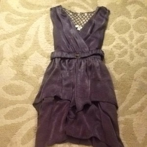 Ya Los Angeles short dress Purple on Tradesy