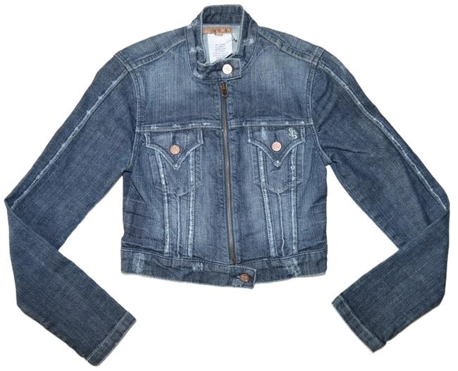 See Thru Soul Denim blue Womens Jean Jacket