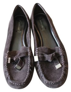 Alex Marie Suede Brown Flats