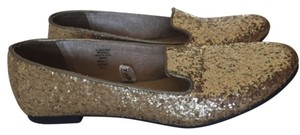 Mossimo Supply Co. Gold Sequin Flats
