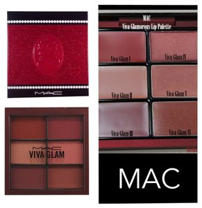 MAC Cosmetics NIB Limited Edition Mac Viva Glam Keepsake Lip Palette