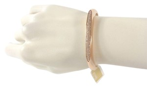 Michael Kors Michael Kors MKJ4485 Rose Gold Crystal Bangle Bracelet NEW! $145
