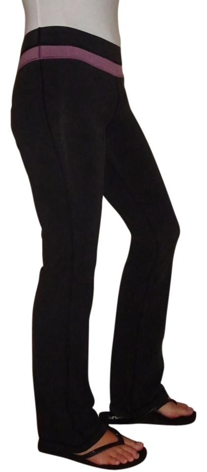1aa44de0e77e57 Victoria's Secret Black Pink XS Vsx Sleek Fit Yoga | Purple Band | | Xtra  Small Activewear Bottoms