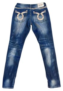 Big Star Acid Wash Skinny Jeans-Acid