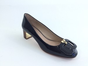 Tory Burch Dark Navy Pumps