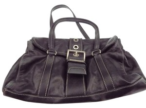 Prada Prada. Leather Hobo Bag