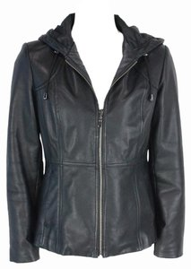 Kenneth Cole Reaction Leather Leather Jacket