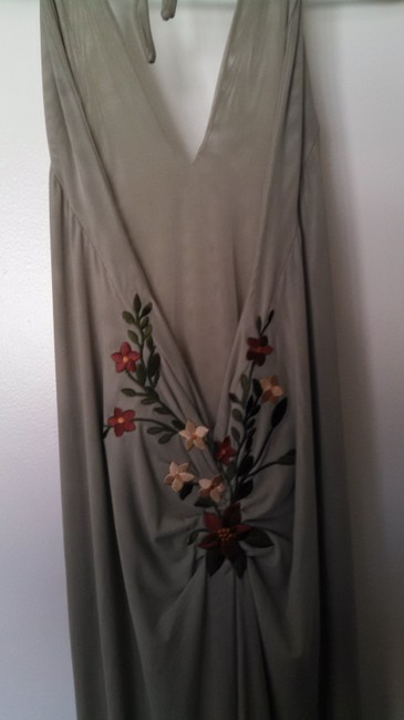 Ema Savahl Vintage Mermaid Ball Gown Embroidered Party Dress