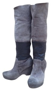Vera Wang Lavender Label Dark Grey/Taupe Boots