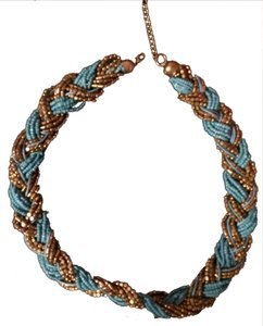 New York & Company Turquoise Statement Necklace