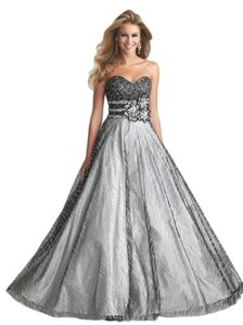 Night Moves Prom Collection 6707 Wedding Dress