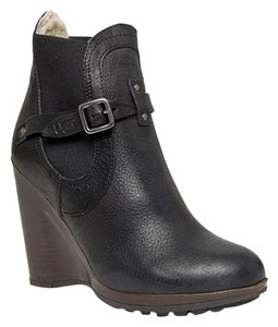 UGG Australia Collection Wedge Toms Diane Von Pour La Victorie Tory Burch High Wool Leather Victory Bilancia Frye Winter Fall Cold Black Boots