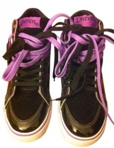 Draven Black and Purple Athletic