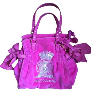 Juicy Couture Daydreamer Leather Tote in Pink