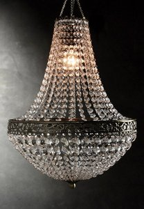 Save On Crafts Bronze Chandeliers (4) Still In Box. Can Be Used with Battery Operated Lights Or Without. Reception Decoration