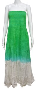 Green Ombre Maxi Dress by Mlle Gabrielle