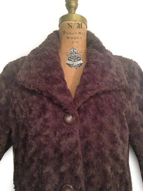 Pamela McCoy Faux Jacket Jacket Fur Coat