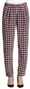 Equipment Relaxed Pants plaid