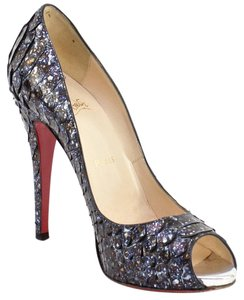 Christian Louboutin Metallic Platforms