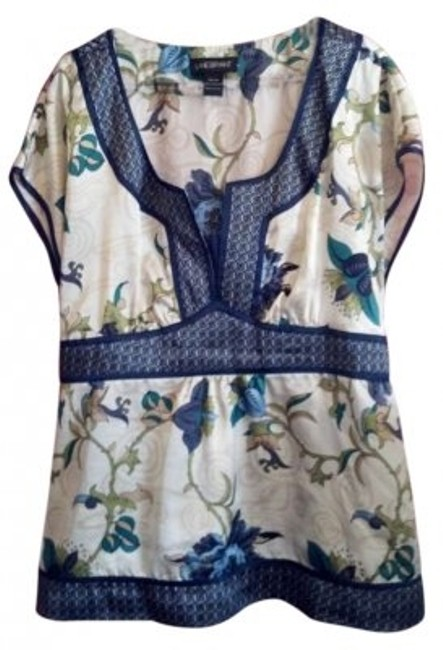 Preload https://item5.tradesy.com/images/lane-bryant-creamnavy-w-blue-and-green-vine-pattern-elegant-with-ties-blouse-size-22-plus-2x-129324-0-0.jpg?width=400&height=650