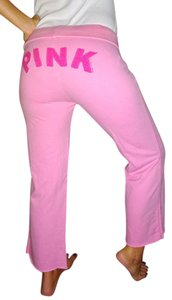 Victoria's Secret Nation Nation Cropped Love Style Fitness Yoga Gym Sexy Dorm Angel Vs Surf Shoechic30 Capris Pink