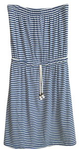 Gap short dress blue white stripe on Tradesy