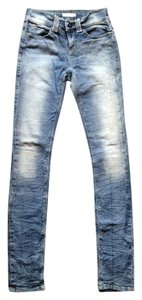 Silence + Noise Urban Outfitters Distressed Jeggings Ankle Justin Timberlake Skinny Jeans-Distressed