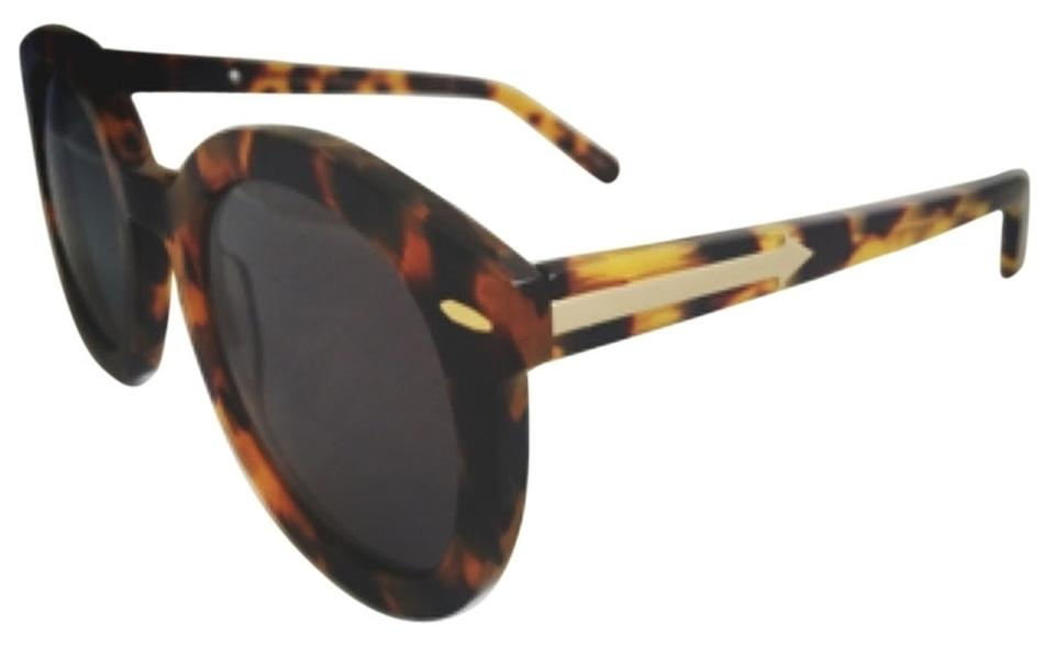 8b62013b8c1 Karen Walker Karen Walker Super Duper Strength crazy tortoise Special Fit  sunglasses Image 0 ...