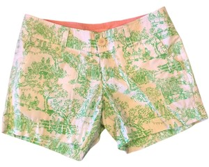 Lilly Pulitzer Mini/Short Shorts Spring Fever Toile