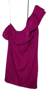Forever 21 short dress Magenta/radiant Orchid on Tradesy