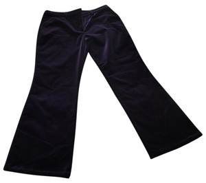 Escada Flare Pants purple