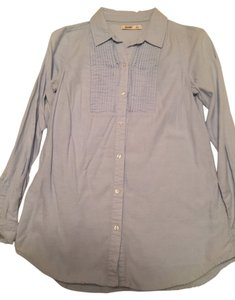 Old Navy Small Button Down Shirt Blue