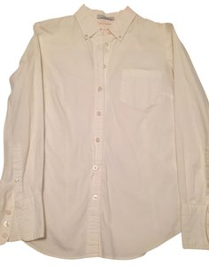 Kenar Blouse Button Down Shirt White